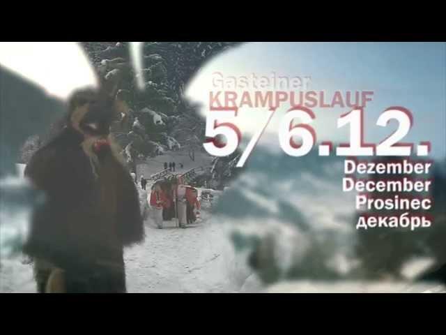 Krampus & Nikolaus in Gastein, Krampuslauf 2016 - Trailer
