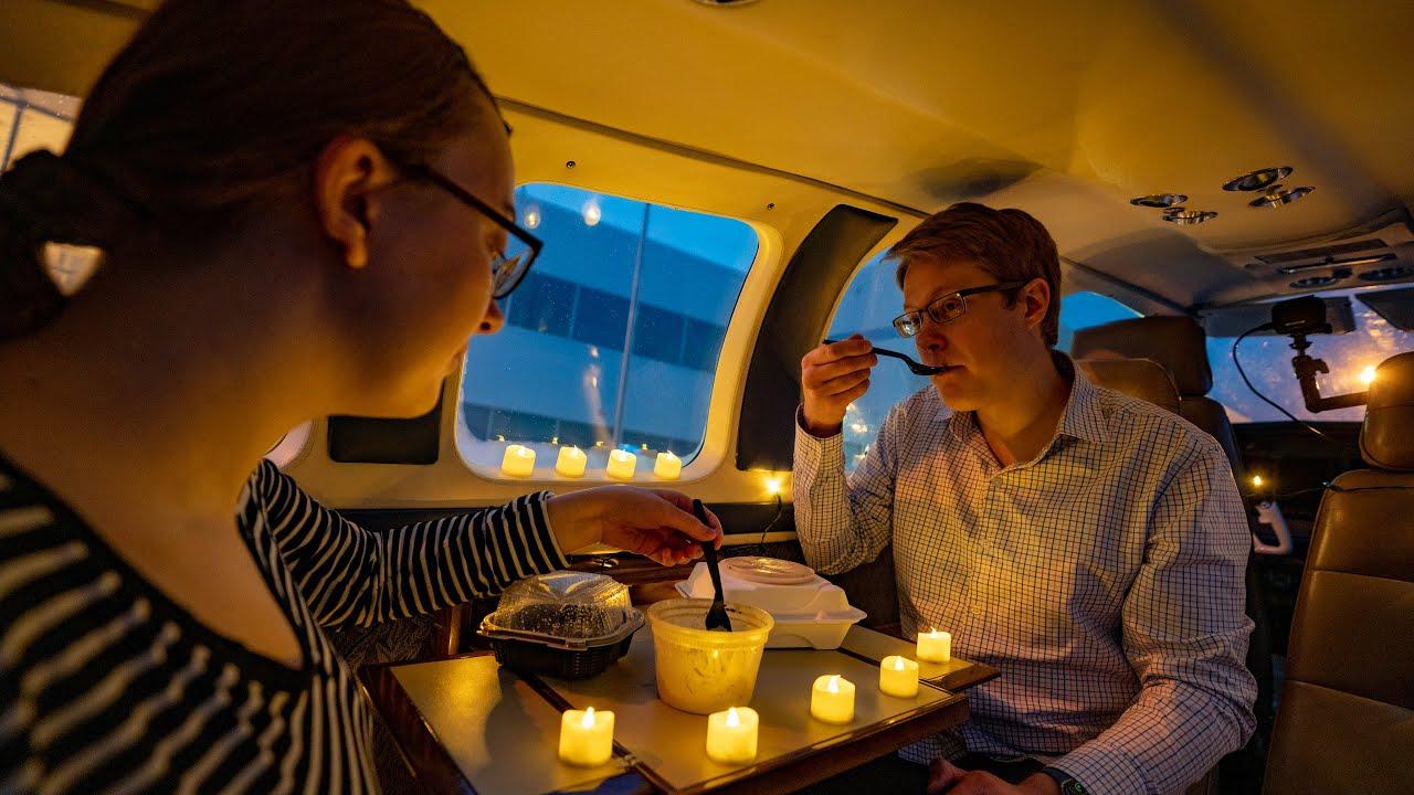 Date Night Flight COVID-Style