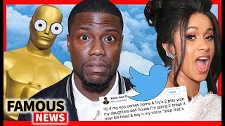 Kevin Hart Steps Down From Oscars Over 2009 Tweets, Cardi B Crushes Grammy Noms | Famous News