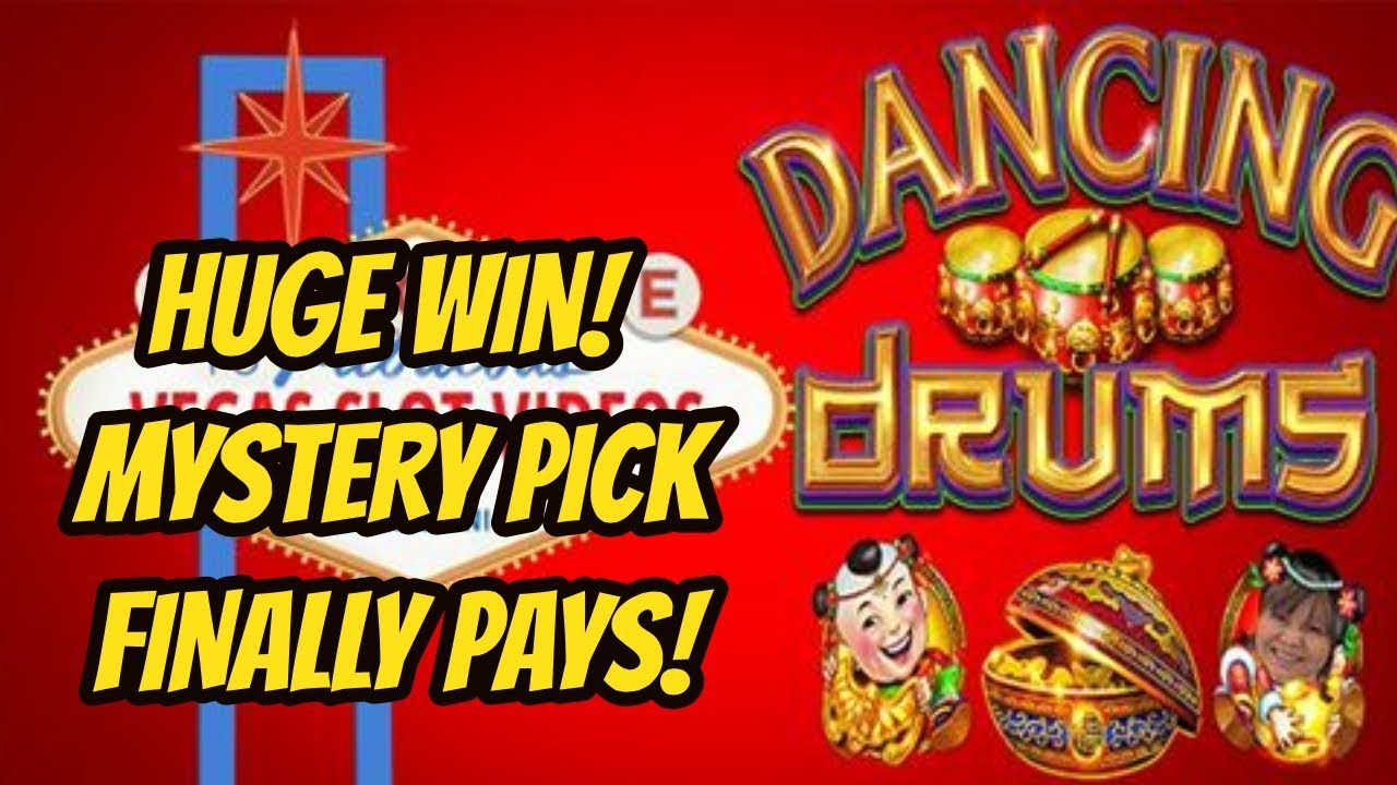 Big Win On Mystery Pick Dancing Drums Youtube