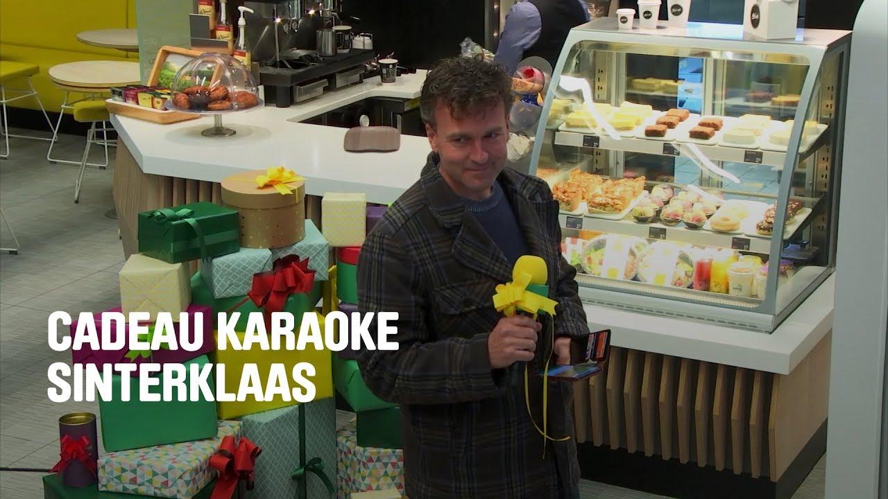 De Sinterklaas Cadeau Karaoke Cadeau Kalender Mcdonalds
