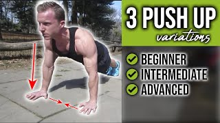 Push-Up Tutorial: WRONG vs RIGHT way to do pushup progressions  LiveLeanTV