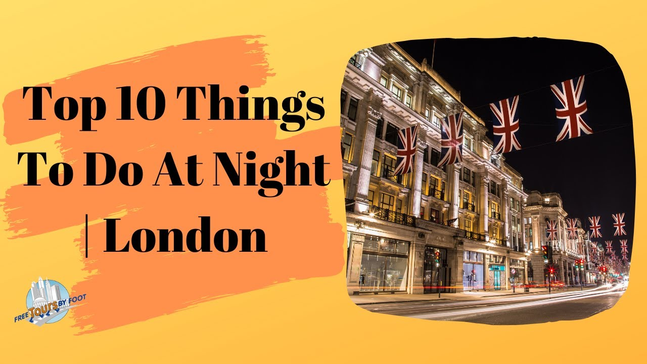 free things to do in london evening