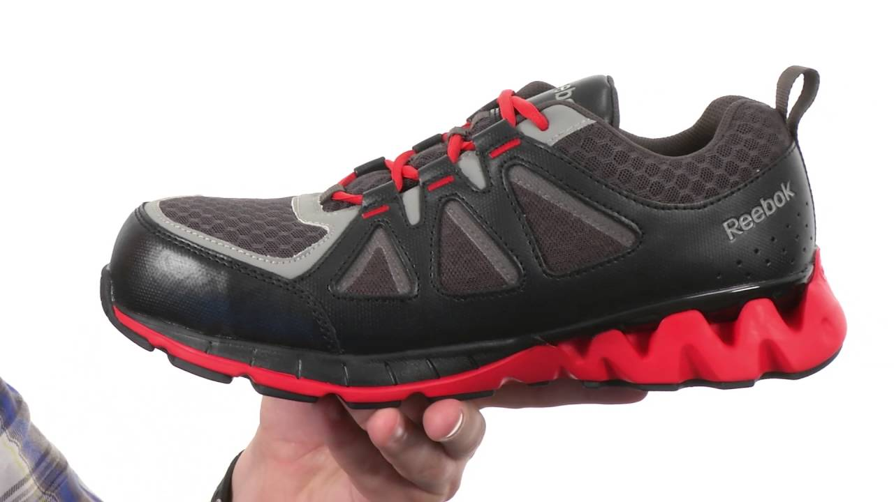 8c5aa049632a20 Reebok Work Zigkick Work SKU 8714800 - YouTube