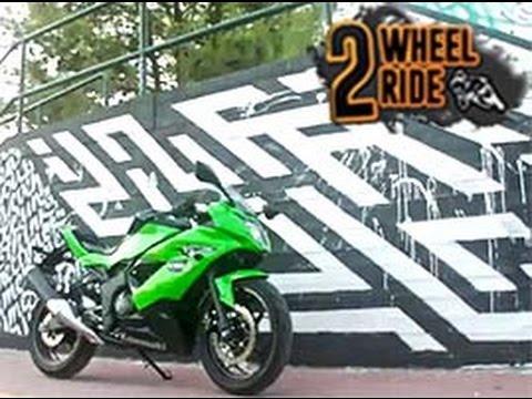 Παρουσίαση Test ride - Kawasaki Ninja 250SL - Eκπομπή 2wRide@www.DotTV.gr