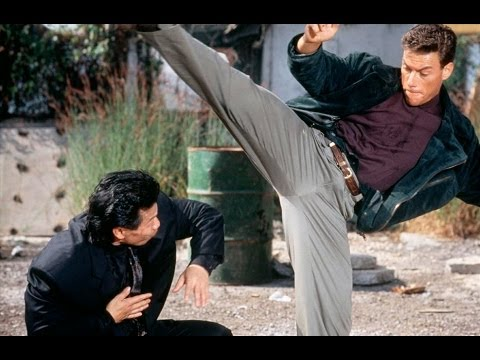 Double Impact Fight - Moon (Bolo) vs. Chad (Van Damme) [HD]