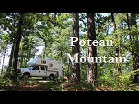 Dispersed Camping at Poteau Mountain, Arkansas