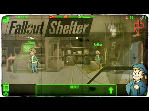 Let's Play Fallout Shelter #51 ☢ Olivia Bush-Cox Und Arthur Wilson Im Depot