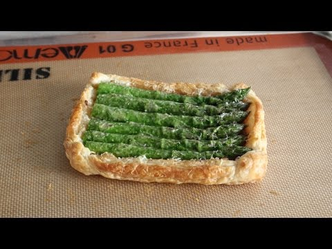 Asparagus Tart Recipe - How to Make a Savory Asparagus Tart