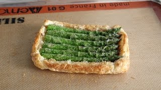 Asparagus Tart Recipe - How To Make A Savory Asparagus Tart