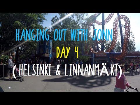 Hanging Out With Jonn - DAY 4 (Helsinki & Linnanmäki)