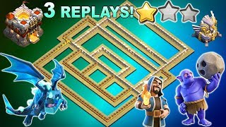 BEST TH11 War Base 2019 With Replays Anti Bowler Anti Miner |CoC NEW Town Hall 11 Defense Strategy