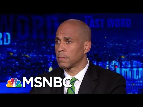Cory Booker Discusses His Phone Call With Joe Biden | The Last Word | MSNBC