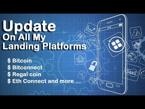 Update On All My Landing Platforms  - What's The Next Price Of Regal Coin