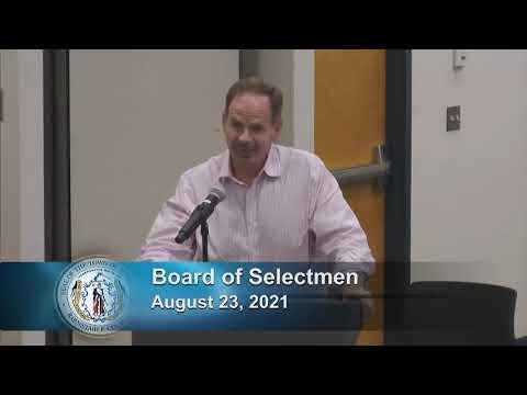 Board of Selectmen 8-23-21
