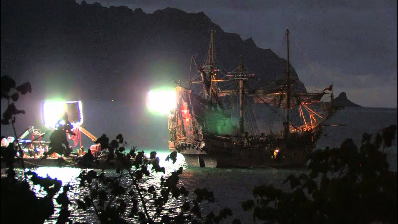 Filming Pirate of the Caribbean 4 - Kaneohe Bay - Heeia ...