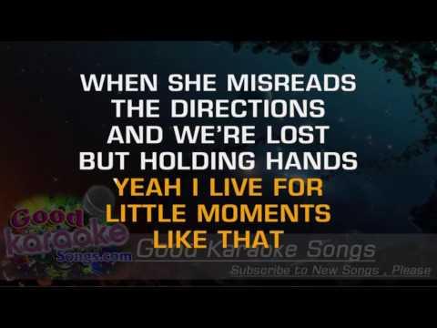 Little Moments -  Brad Paisley (Lyrics Karaoke) [ goodkaraokesongs.com ]