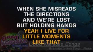Little Moments - Brad Paisley (Lyrics Karaoke) [ goodkaraokesongs.com ]