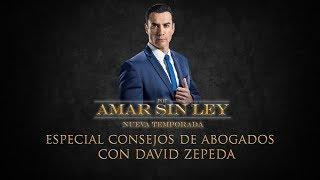 ESPECIAL: Consejos de abogados con David Zepeda | Por Amar Sin Ley - Las Estrellas