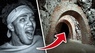 SIDEMEN EXPLORE HAUNTED TUNNELS (WARNING)