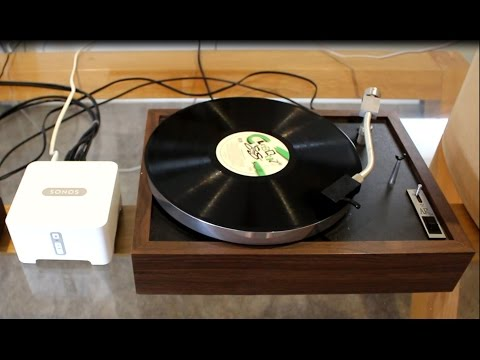 Sonos Connect your Vinyl Turntable