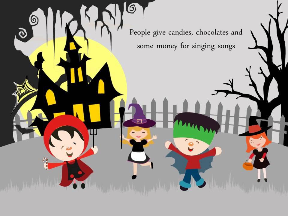 halloween powerpoint presentation youtube