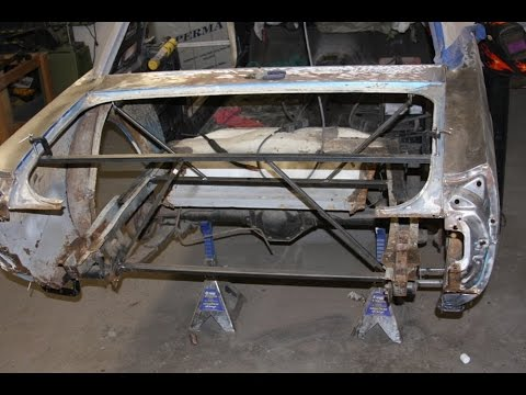 Rusted Out Quarter Panel Replacement 65 Mustang