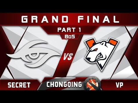 Secret vs VP Grand Final Chongqing Major CQ Major Highlights 2019 Dota 2 - [Part 1]