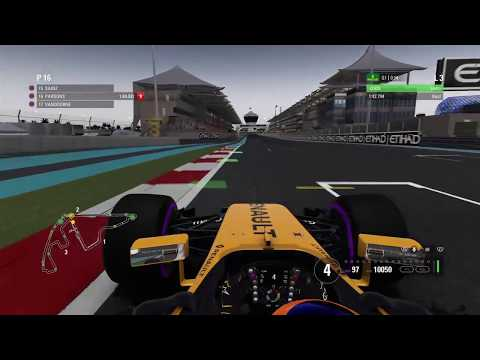 F1 2017 Career - Season 1 Finale - UAE