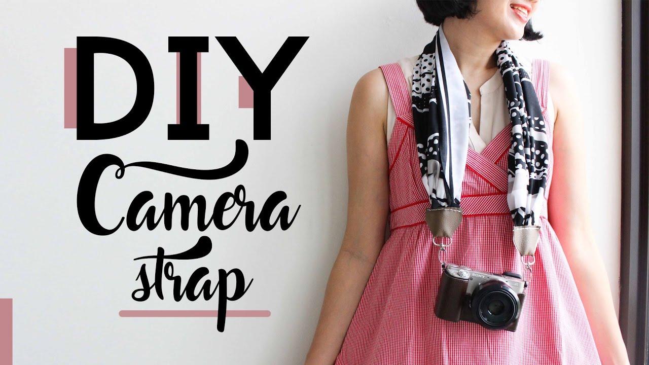 DIY Camera Strap Made From Scarf | MARTHA PURI - IDEKU ...