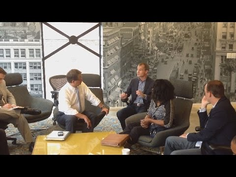 Congressman Gary Peters Visits Detroit Locations On Startup Day