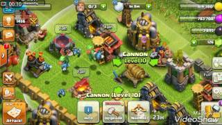 How to get double cannon in home base (Clash of Clans)