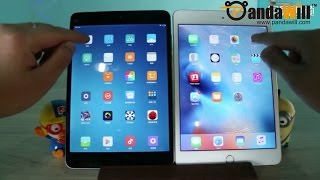 XIAOMI Mi Pad 2 Hands On vs iPad Mini 4