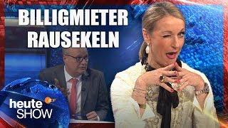 Monika Gruber hat keinen Bock auf Billigmieter | heute-show vom 10.11.2017