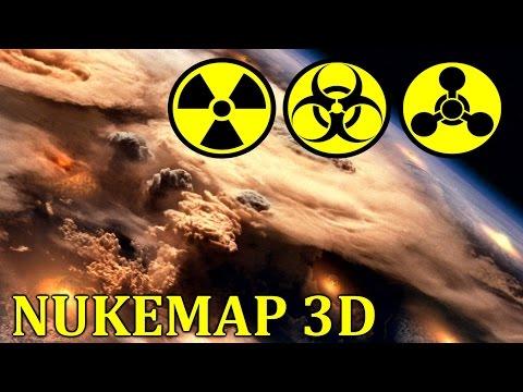 NukeMap 3D -  Cимулятор Ядерной Войны - Любимая игра Ким Чен Ына