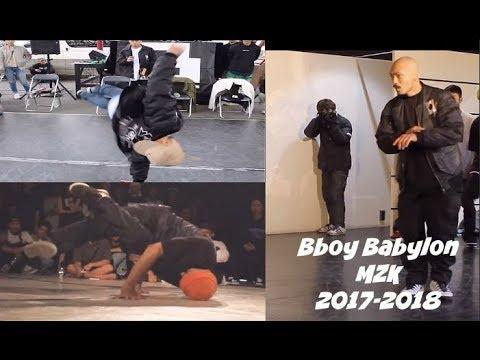 Bboy Babylon (MZK) killing the beat 2017-2018. Musicality master.
