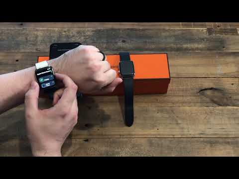 Apple Watch Hermès Series 4 | Unboxing + SetUp