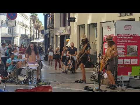 Street music in Montpellier