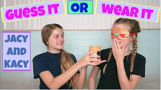 Guess It or Wear It Challenge ~ Jacy and Kacy(Thank you to everyone who asked us to do this challenge. This video is for you! Would you have been able to guess the items? If you are new to our channel or ..., 2017-02-20T22:30:40.000Z)