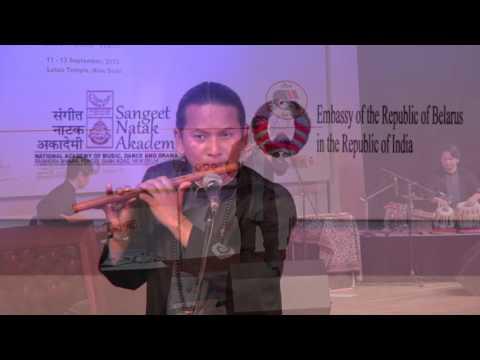 World Flute Festival 2015 in New Delhi Pancha Lama バンスリ パンチャ ラマ
