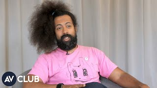 Reggie Watts explains why you should watch his new show, Taskmaster