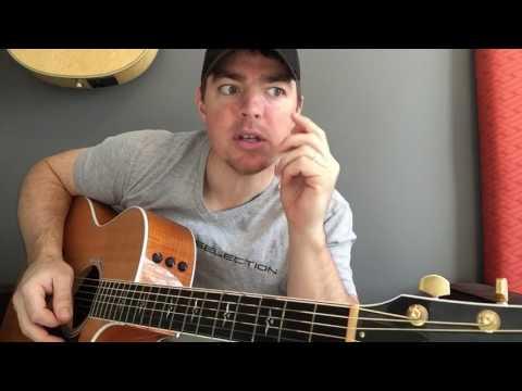 Guy With A Girl | Blake Shelton | Beginner Guitar Lesson