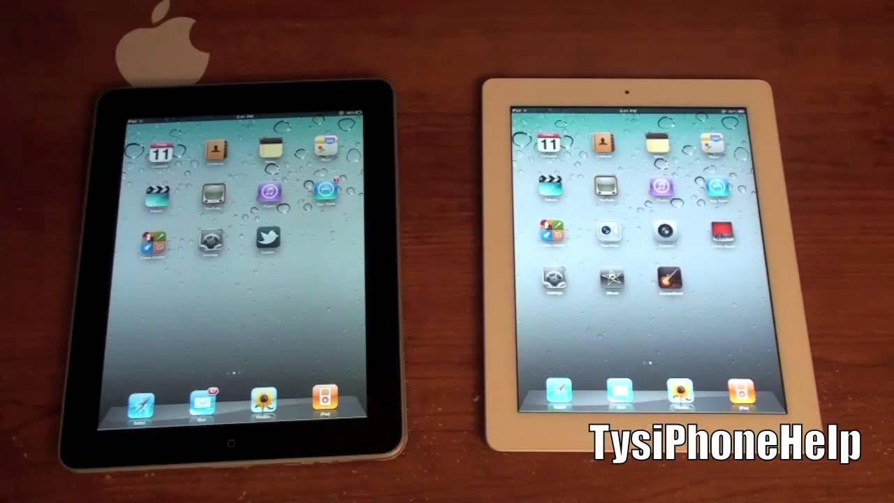 ipad 1 vs ipad 2 whats new youtube