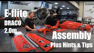 E-flite® DRACO 2.0m - Assembly Plus Hints and Tips with Special Guest
