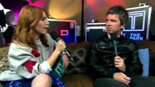 Angela Scanlon & NOEL GALLAGHER INTERVIEW for BBC Three