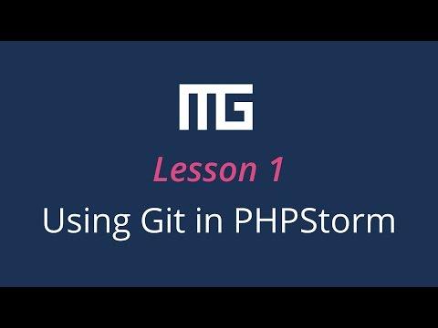 Using Git In PHPStorm