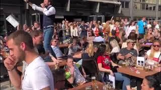 HANS DORCHAIN - Rotterdam Marathon 2018 at Cornelis
