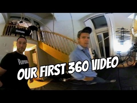 Our first immersive 360 VR Video!!  Look around!