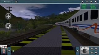 Trainz Simulator Android - Persilangan Singkat di Sta.LBJ