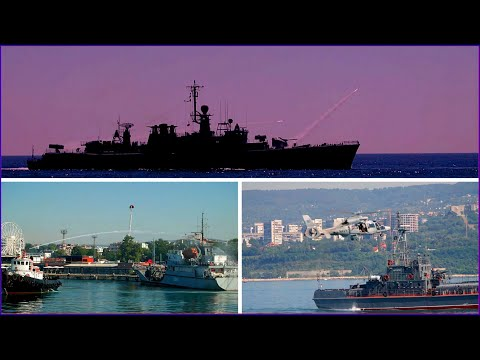 NATO ships take part in Exercise Breeze in the Black Sea